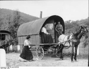 バン 大型荷馬車