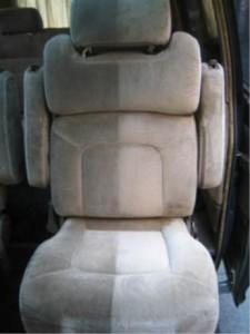 車シート(掃除後)